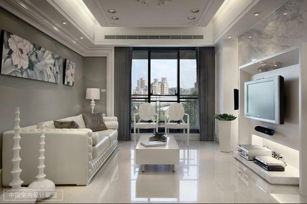 150平现代简约三室两厅两卫装修高清图片