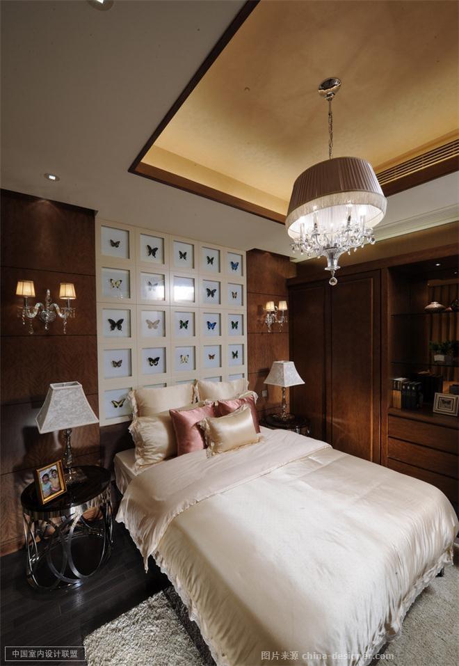 设计说明 简约是一种态度,中式装饰元素与现代风格的结合,